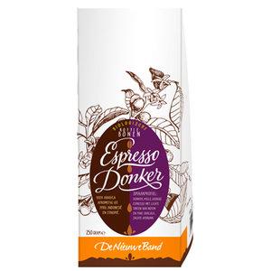 Koffiebonen (100% Arabica) Espresso Donker 500 gram (biologisch)