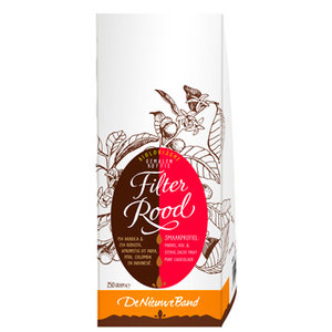 Filterkoffie Rood 500 gram (biologisch)