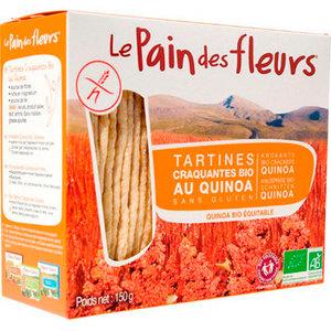 Glutenvrije Quinoa Crackers 150 gram (biologisch)