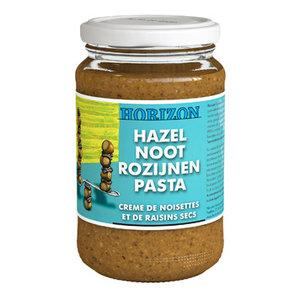 Hazelnoot-Rozijnenpasta 350 gram (biologisch)