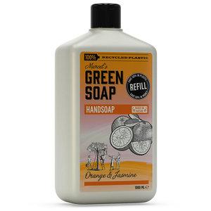Handzeep sinaasappel navulverpakking Marcel's Green Soap