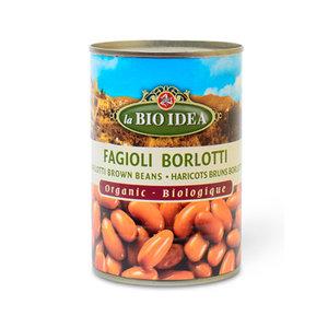 Bruine Borlotti Bonen 400 gram (biologisch)