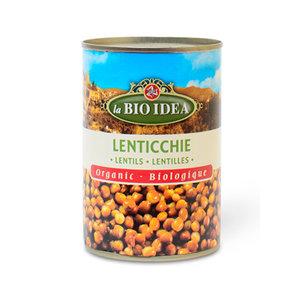 Bruine Linzen 400 gram (biologisch)