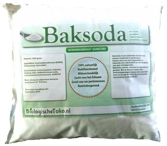 Baking Soda 5 kg Grootverpakking (Natriumbicarbonaat)
