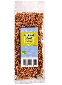 Geel Mosterdzaad 60 gram (biologisch)