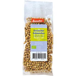 Korianderzaadjes 30 gram (biologisch)