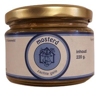 Zachte Gele Mosterd 220 gram (biologisch)