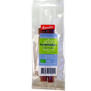 Kaneelstokjes 10 gram (biologisch)
