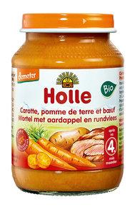 Maaltijdpotje wortel aardappel eb rundvlees van Holle