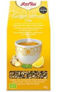 Yogi Tea Ginger Lemon Chai 90 gram (biologisch)