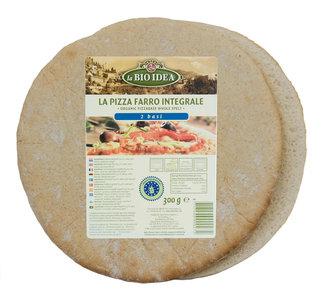 Spelt Pizzabodems -2 stuks (biologisch)