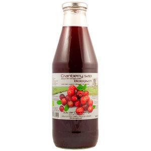 Cranberrysap 750 ml (biologisch)