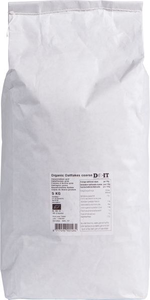 Havervlokken grootverpakking in papieren zak
