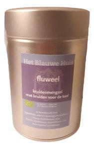 Fluweel Thee (voor de keel) in Blik 50 gram (biologisch)