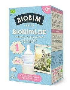 Biobimlac 1 - vanaf de geboorte (biologisch)