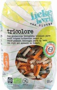 Glutenvrije Spirelli Tricolore 500 gram (biologisch)