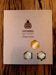 Superbee Wax Wraps Probeerset (3 maten)