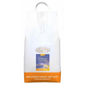 Volkoren Speltmeel Grootverpakking 5 kilo (demeter)