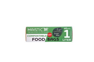 Plasticvrije Diepvrieszakjes 1 liter (40 stuks)