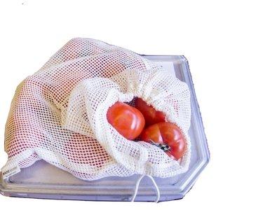 Groente en Fruit Netje - 2 stuks (biologisch)