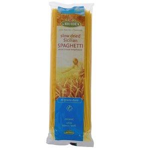 Witte biologische spaghetti