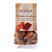 spelt chocolate cookies