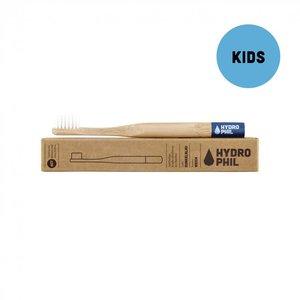 Kindertandenborstel Bamboe Blauw (extra soft)