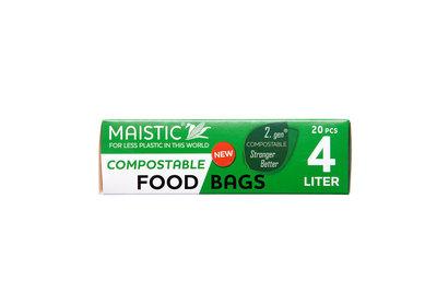 Plasticvrije Diepvrieszakjes 4 liter THT 5/19 (20 stuks)