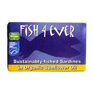 Hele sardines in zonnebloemolie