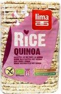 Dunne rijstwafels met quinoa