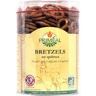 Zoute krakeling van quinoameel en tarwemeel
